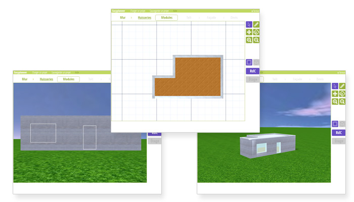 Screenshot Easygreen builder